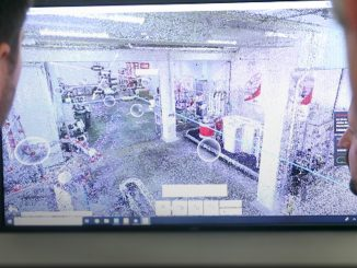 Laser scanning measures and digitalizes your factory layout